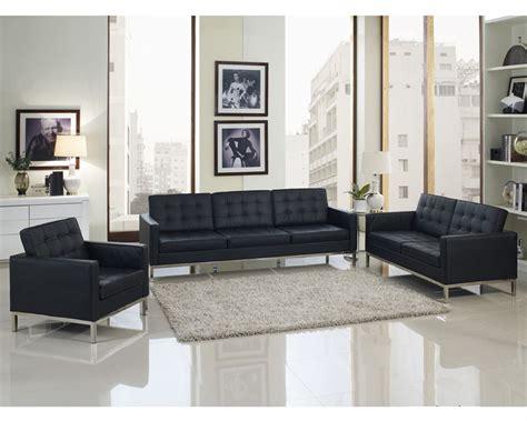 4 piece leather sofa set modway loft 4 piece leather sofa set my eei 861