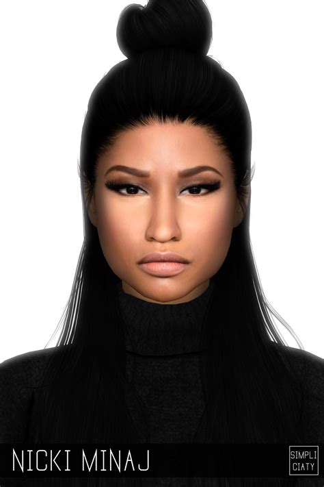 by levitas tags sim sims model sims3 female sims3 modeli nicki minaj sim play sims 4 pinterest nicki minaj