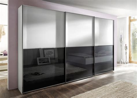 Sliding Wardrob by Nolte Moebel Attraction Glass Midfurn Furniture Superstore