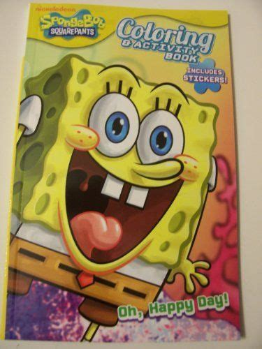 crayola giant coloring pages spongebob squarepants spongebob giant coloring and activity book murderthestout