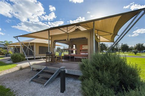 Tent Platform eco tent adelaide shores