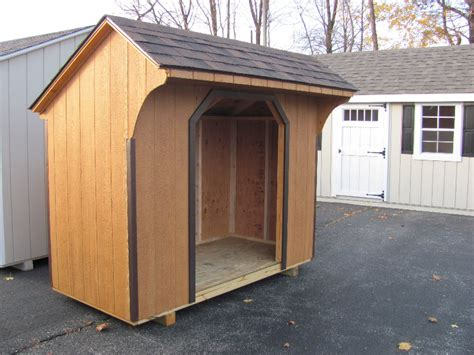 8 X4 Shed by Firewood Sheds Amish Mike Amish Sheds Amish Barns