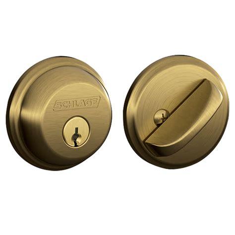 Door Knob And Deadbolt by Schlage Single Cylinder Deadbolts Door Locks B60