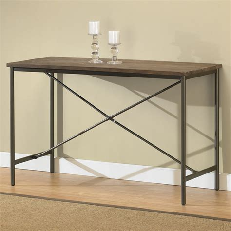 Elements Cross Design Grey Sofa Table Overstock Shopping Overstock Sofa Tables