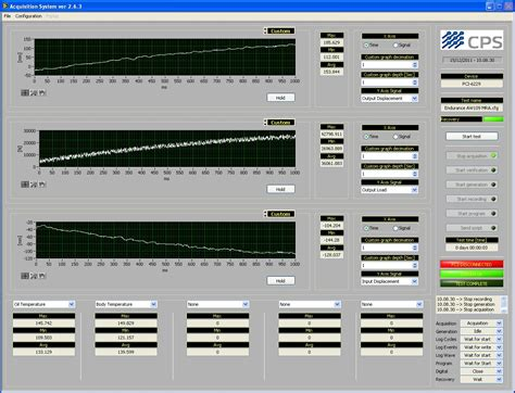 test bench software developing software for configurable procedure test