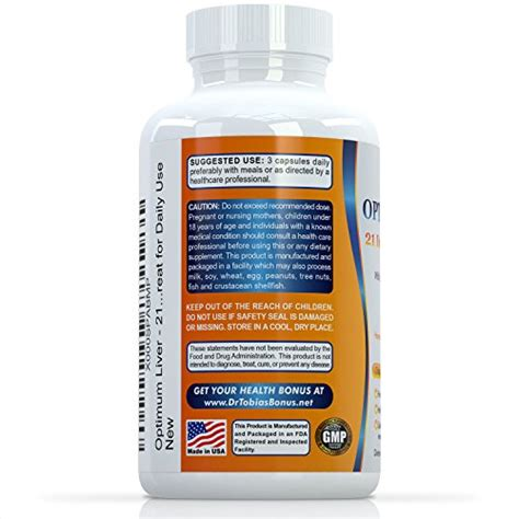 Dr Tobias 21 Day Liver Detox by Dr Tobias Liver Support 21 Day Cleanse Detox