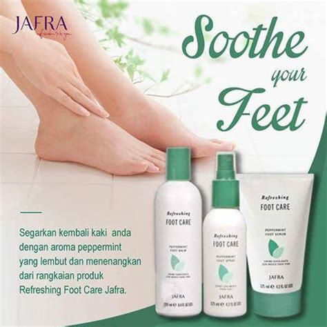 Serum Jafra Murah jual jafra peppermint foot spray murah bhinneka