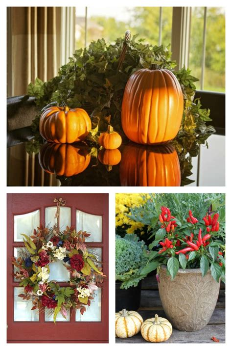 tips  fall decorations natural  easy autumn decor