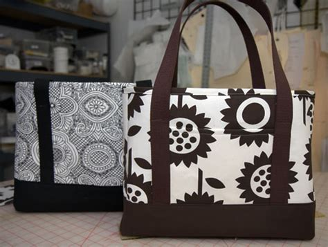 Handmade Bag Tutorial Free - isle b stitching or i live in a material world