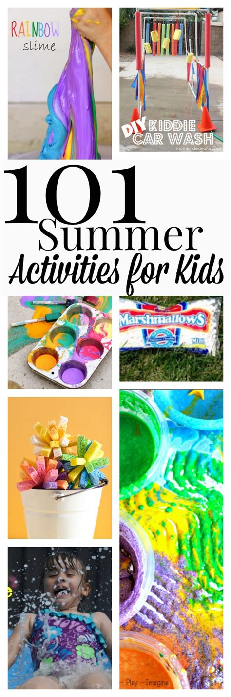 101 summer activities to do with
