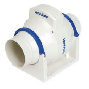 vent axia acm100t 21w in line bathroom extractor fan