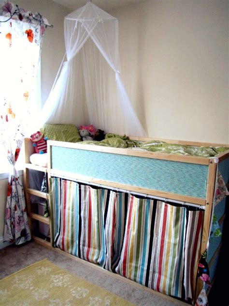 Bunk Bed Curtains Ikea Kura Makeover Ikea Hackers Ikea Hackers