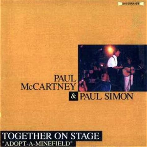 paul simon paul mccartney paul mccartney paul simon together on stage adopt a