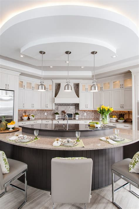 L Shaped Kitchen Islands With Seating A Guide To 6 Kitchen Island Styles