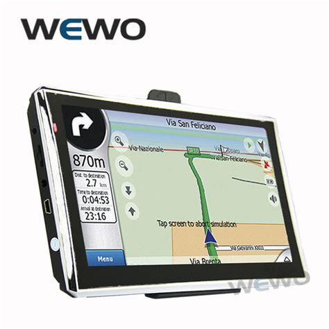 new 7 inch gps navigation fm 4gb 128m ddr 800mhz map free