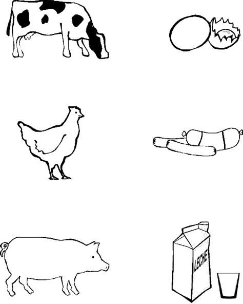 imagenes de animales y sus derivados los animales y sus derivados para colorear imagui