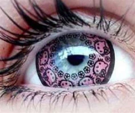 cool anime eye contacts hello contact lenses