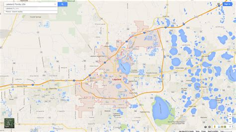 lakeland florida map related keywords suggestions for lakeland florida map
