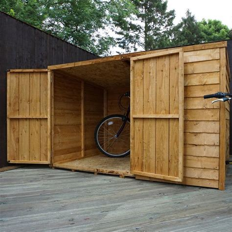3 Bike Storage Shed by 25 Best Ideas About Bike Shed On Outdoor Bike