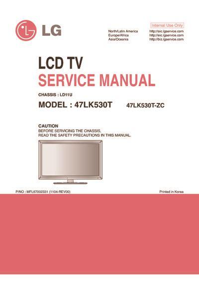 zc transistor datasheet lg 47lk530t zc chassis ld11u service manual repair schematics