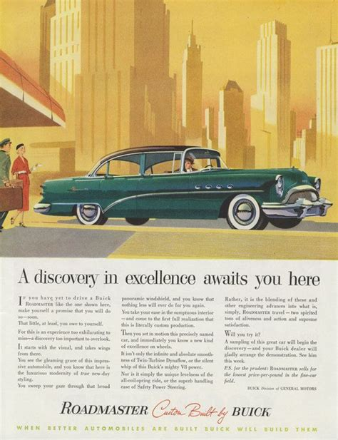 buick advertising 44 best buick images on car advertising