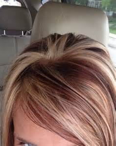 low light hair coloring pictures 17 best ideas about red low lights on pinterest red blonde highlights fall hair highlights