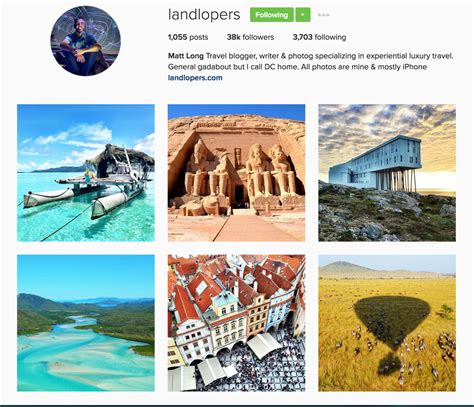 bio for instagram travel the top 25 travel instagram accounts to follow in 2017