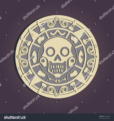 aztec gold stock vector 25029280