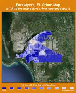 south florida crime map fort myers crime rates and statistics neighborhoodscout