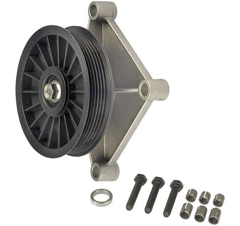 dorman ac compressor bypass delete pulley  listed