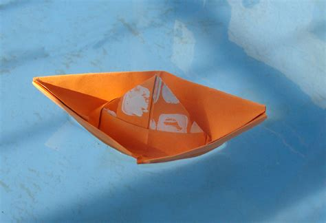 Paper Craft Boat - gift present for classic folded paper boats and hats