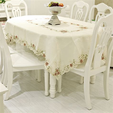 Dining Table Cloths Give The Stylish Look To Your Dining Table With Table Linen Home Furnishings