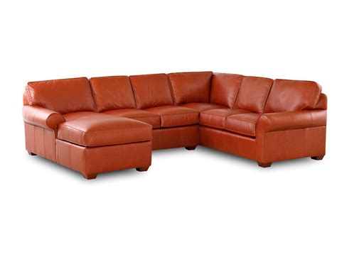 american made leather sofa comfort design journey sectional cl4004 journey sectional