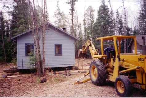 420 sq ft cabin in northern minnesota