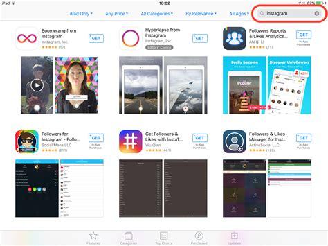 instagram tutorial for ipad c 243 mo instalar instagram aplicaci 243 n oficial en el ipad