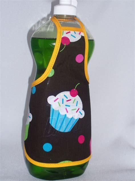 apron pattern for soap bottles dish soap cupcake apron aprons pinterest dishes