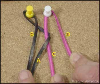 trenza de 4 cabos redonda el taller de jazm 237 n trenza redonda de 4 cabos arte