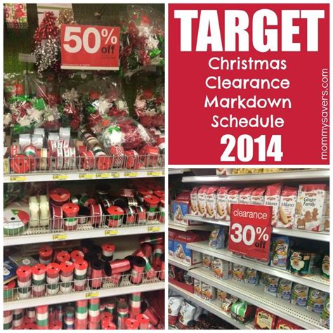 target christmas clearance markdown schedule 2014 the
