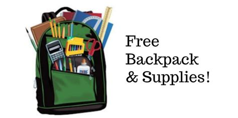 Free Backpack Giveaway 2017 - free backpack supplies from verizon southern savers