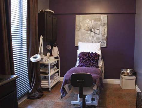 Beautiful Deep Purple Esthetician Room Spa Ideas Beautiful Purple Rooms