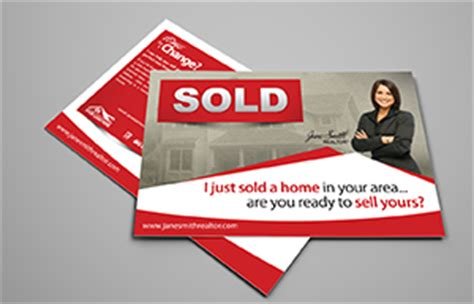 templates from other realtor post cards just sold just sold postcards keller williams century 21 remax
