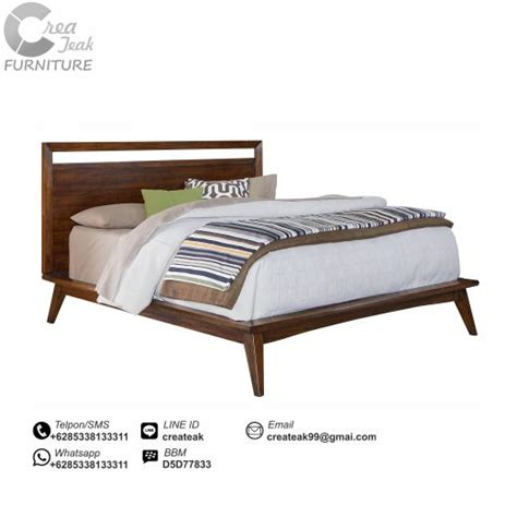 Dipan Kayu Springbed dipan minimalis retro createak furniture createak
