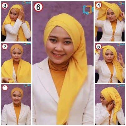 tutorial hijab pesta terbaru 2014 tutorial dan model hijab segi empat trendy terbaru