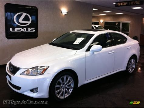 white lexus is 250 2008 image gallery 2008 white lexus