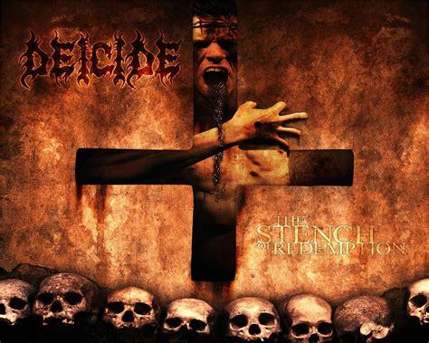deicide death metal heavy satanic dark evil cross