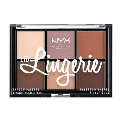 Nyx Make Up Palette Eye Shadow Lipstick Blush On Foundation Palet lid shadow palette nyx professional makeup