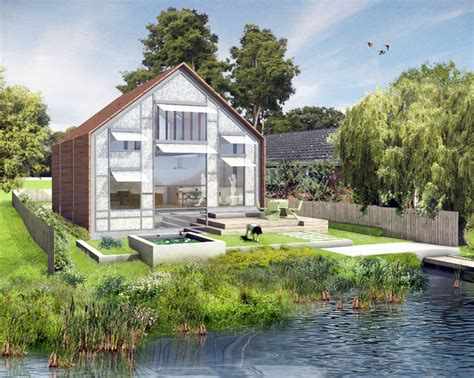 thames floating house uk s first amphibious house approved for the river thames