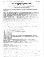 Quiz 2 - Study Guide.docx - Quiz 2 Steps in Problem