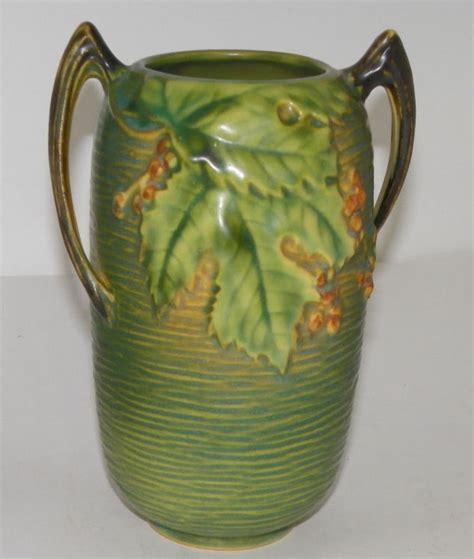 Antique Roseville Pottery Vases by Bargain S Antiques 187 Archive Antique Bushberry