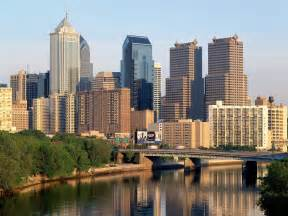 buildings city schuylkill river philadelphia